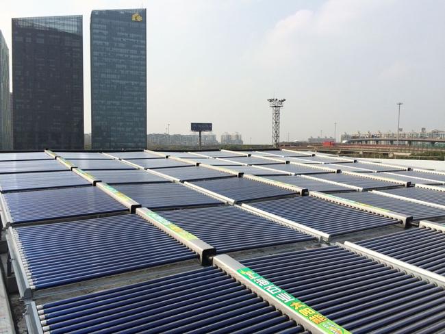 大型太阳能热水工程