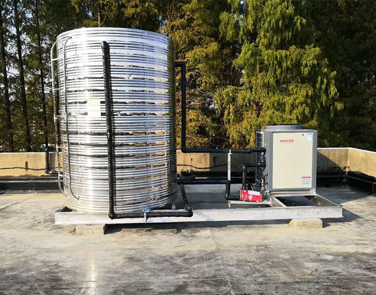 部队空气能热泵工程