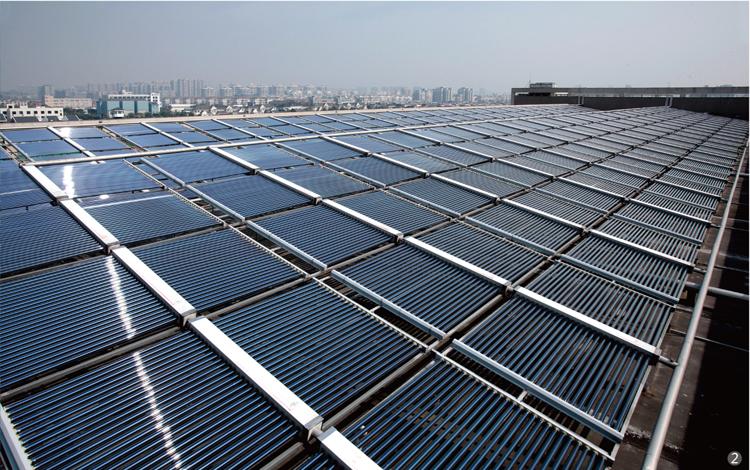 上海安装太阳能热水工程