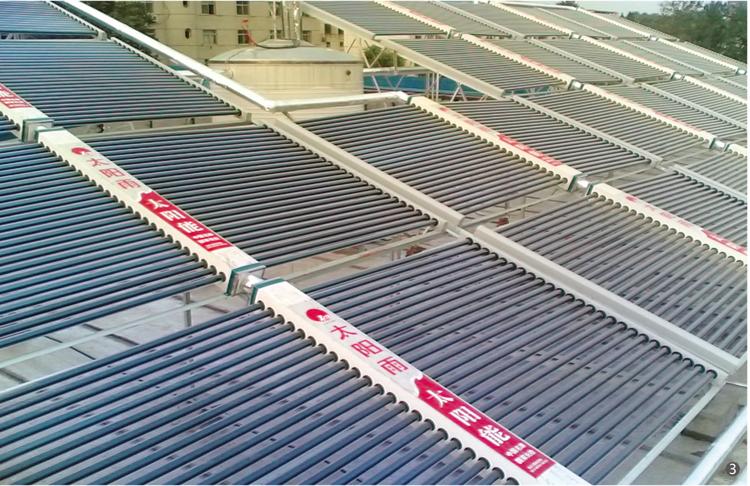 工业太阳能热水工程安装