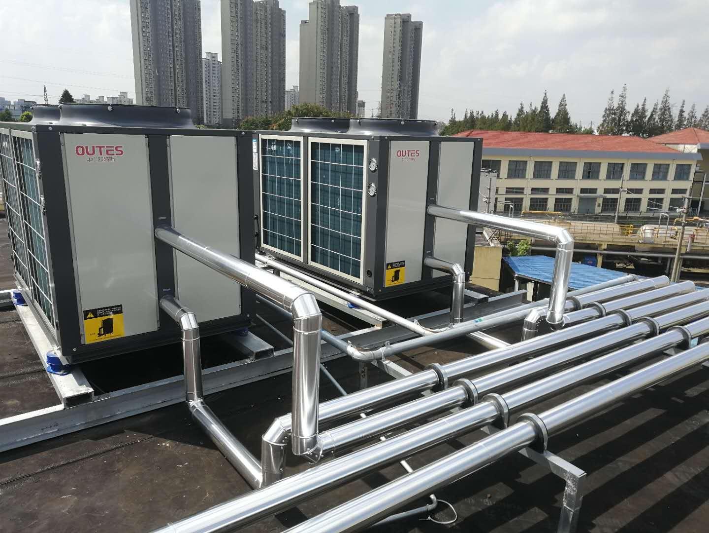 上海中广欧特斯空气能热泵工程