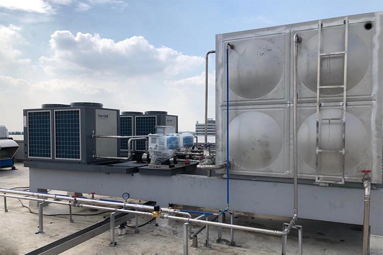 职工宿舍空气源热泵热水工程
