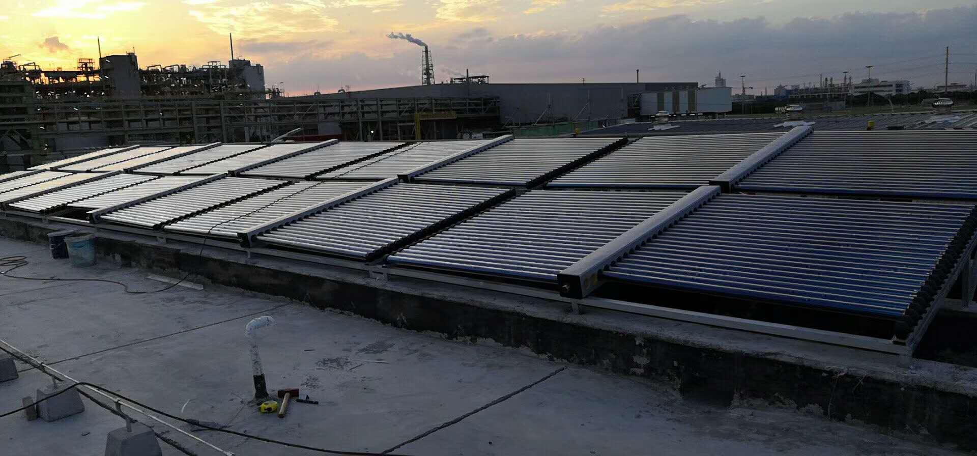 宾馆太阳能热水系统