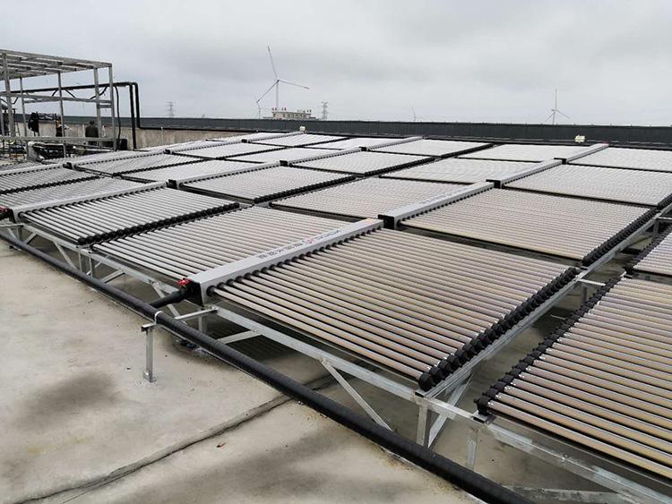 太阳能集热器安装图
