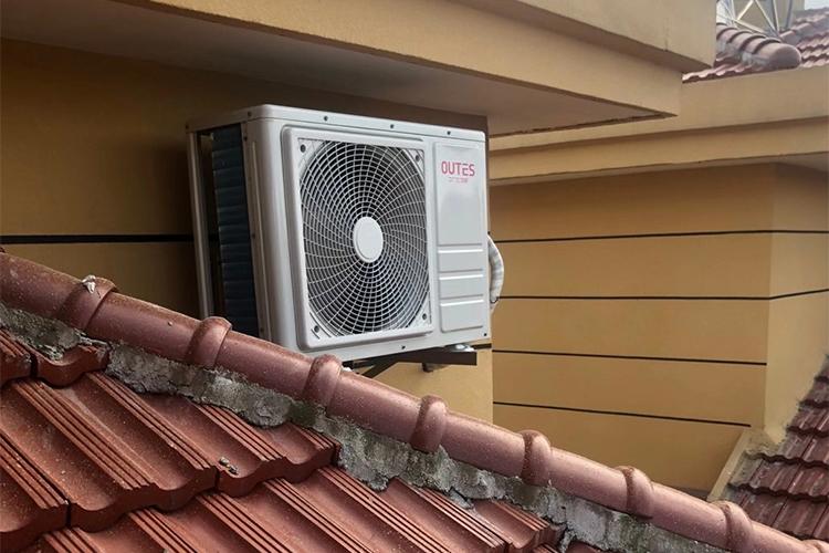 家用空气能安装图