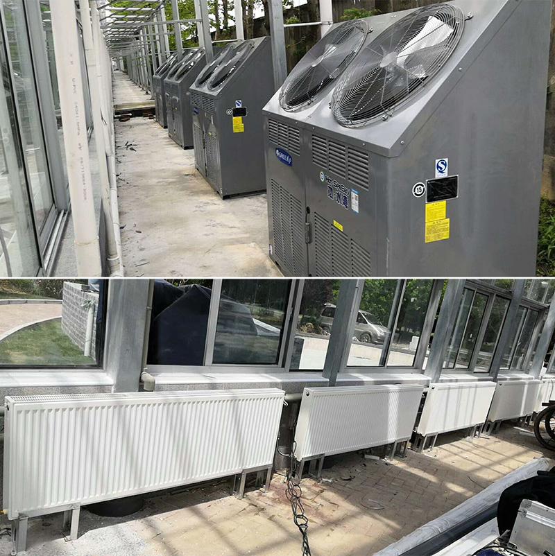 商用格力空气能热水器安装