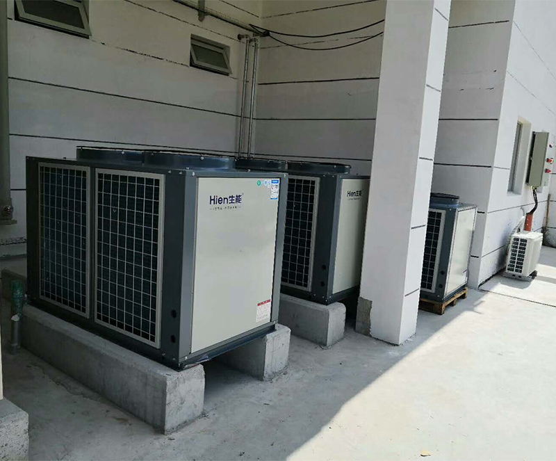 上海化工区空气源热泵热水工程