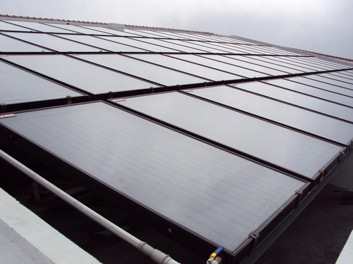 太阳能集热板报价 平板太阳能热水器