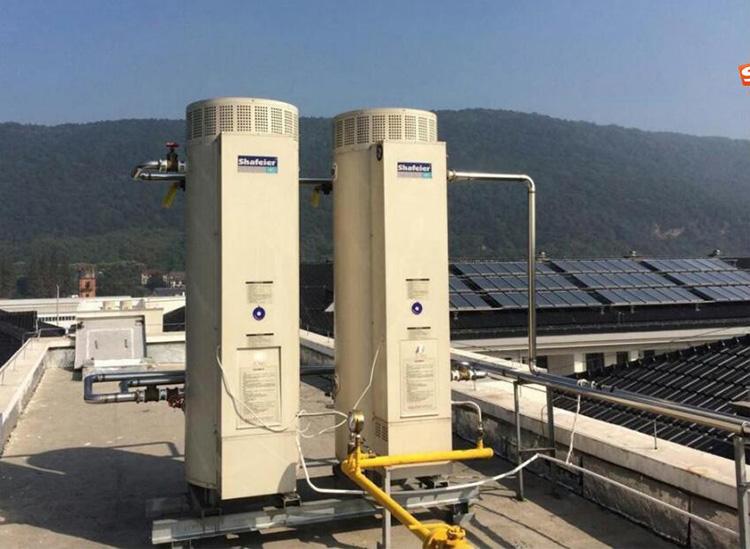 太阳能燃气热水炉热水系统